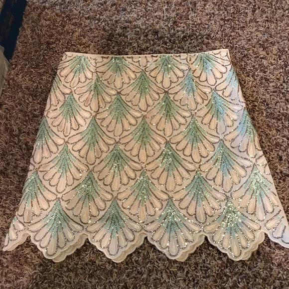 Francesca's Collections Dresses & Skirts - Sequin Mini Skirt